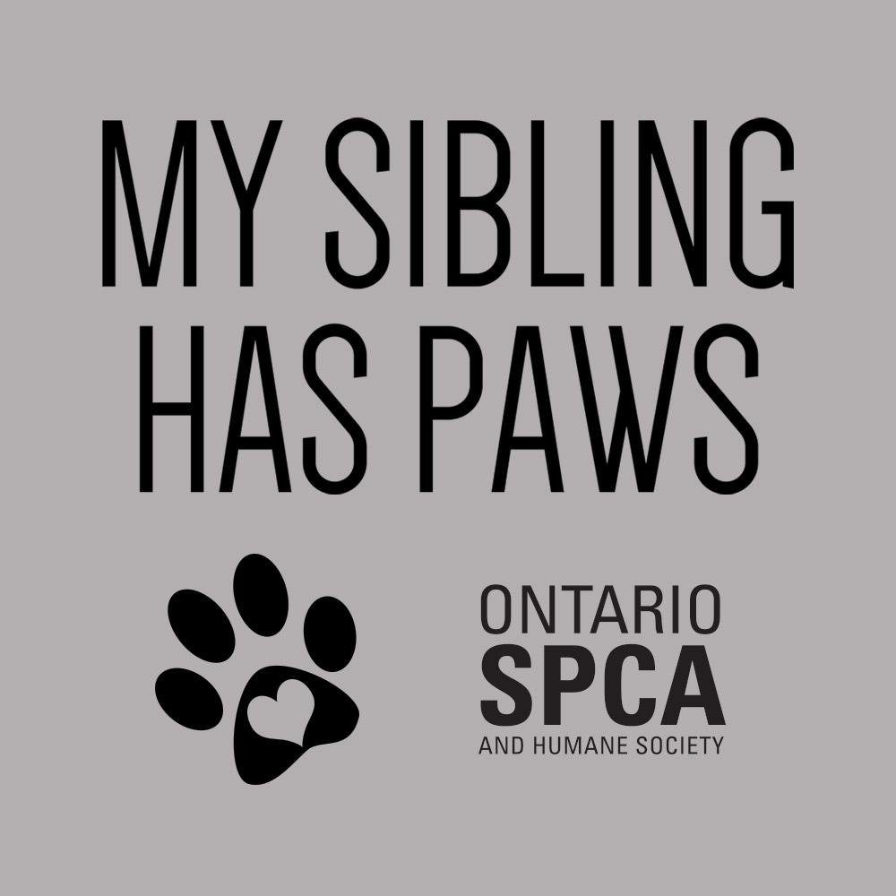 My Sibling Has Paws Graphic